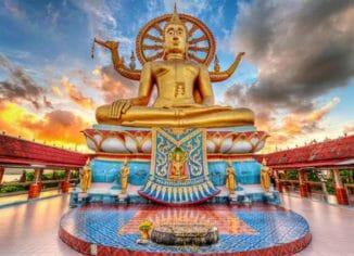 Большая статуя Будды самуи