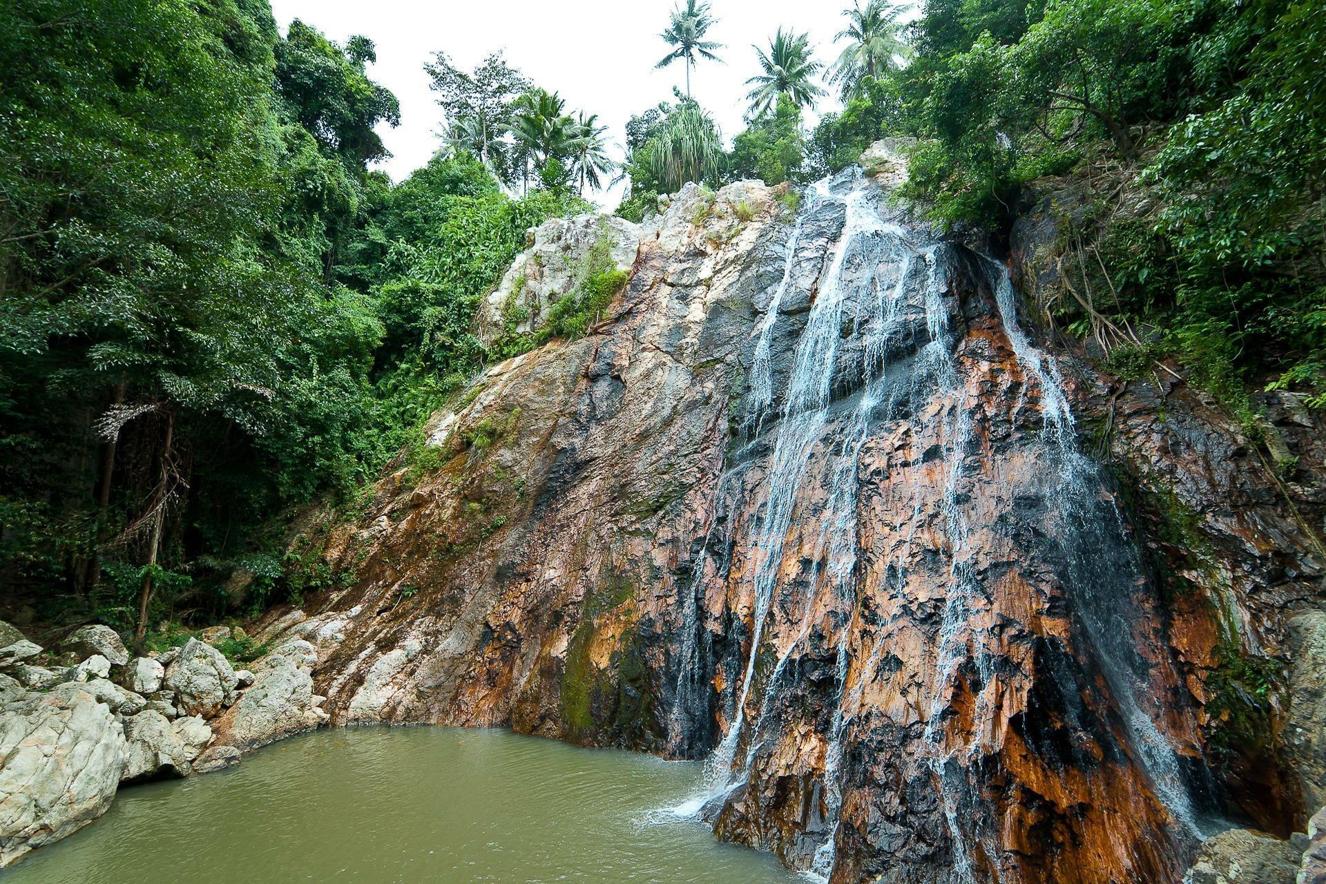 Водопады Namuang 1 самуи