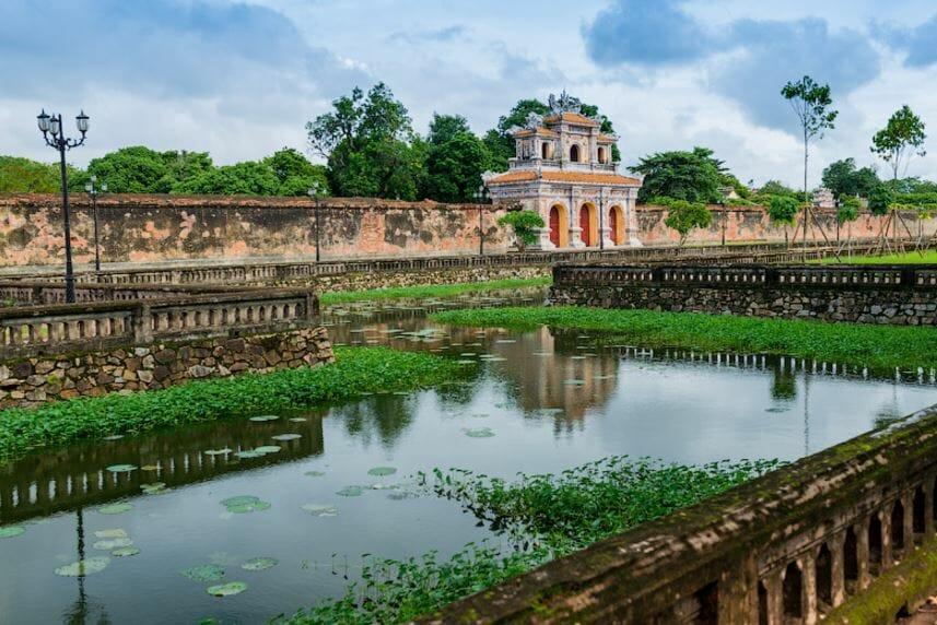 Запретный город императоров, цитадель Хюэ