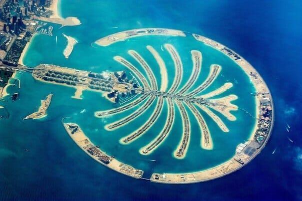 Искусственный архипелаг – остров Пальм