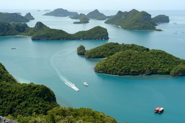 Национальный морской заповедник Анг Тонг(Angthong)