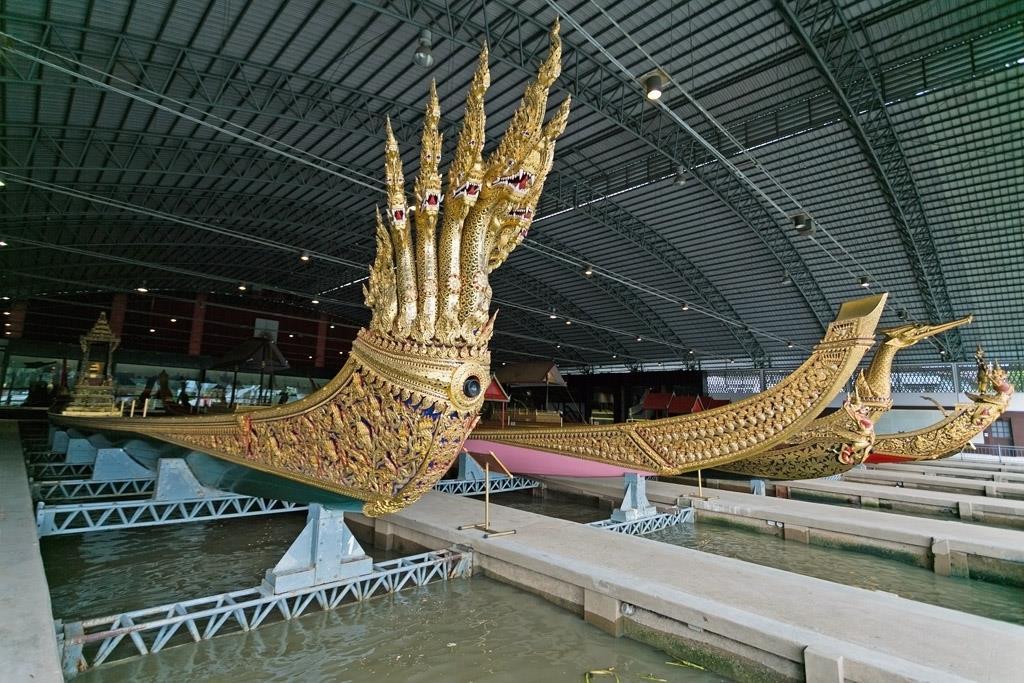 Национальный музей королевских барж, Бангкок, Таиланд.