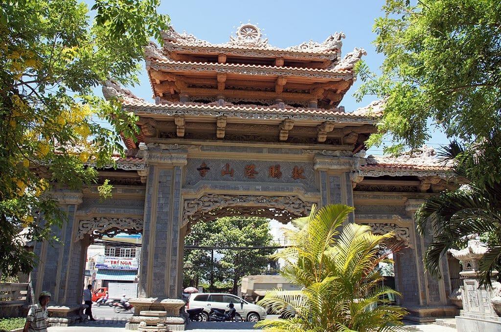 Пагода Лонг Шон, Нячанг, Вьетнам