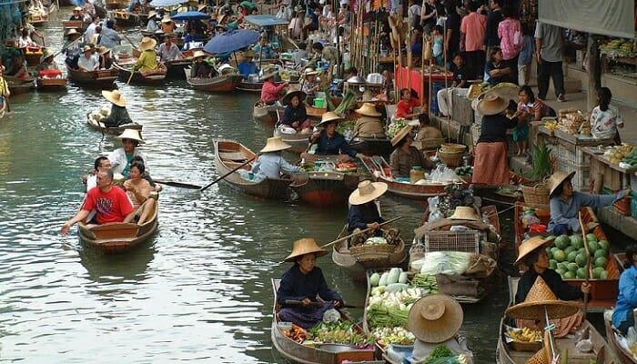 Плавучий рынок Паттайе