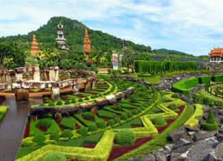 Тропический ботанический сад Нонг Нуч