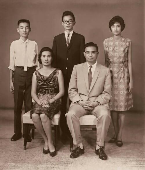 семья Нонг Нуч