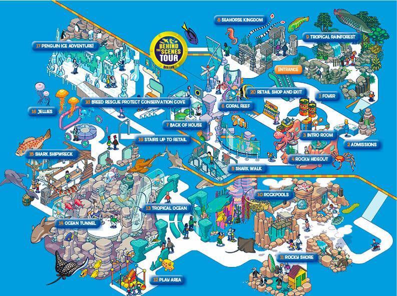 Siam Ocean World карта