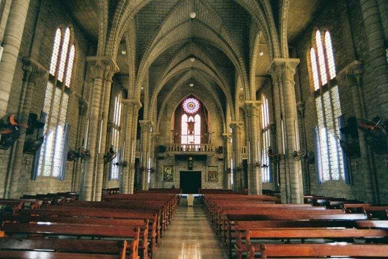 Кафедральный собор Нячанга внутри