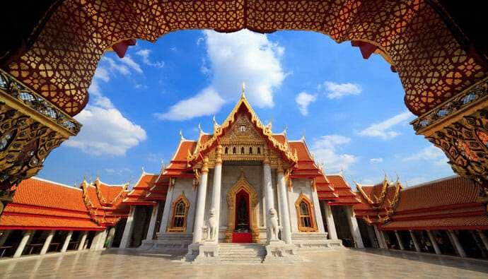 Мраморный храм Бангкока