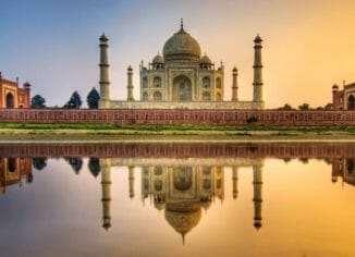 Индия - описание: карта Индии
