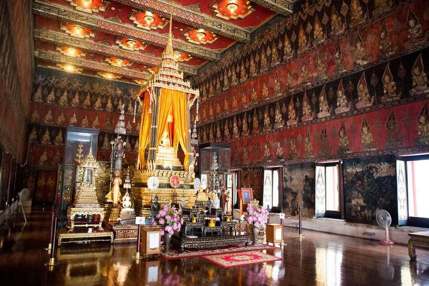 Национальный музей Бангкока, Таиланд.