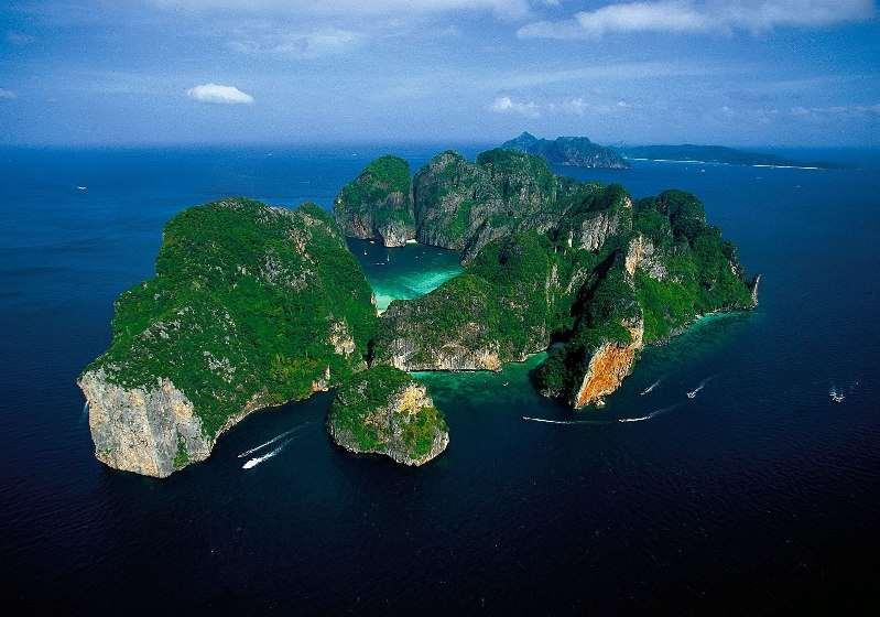 Острова Пхи-Пхи, Таиланд.