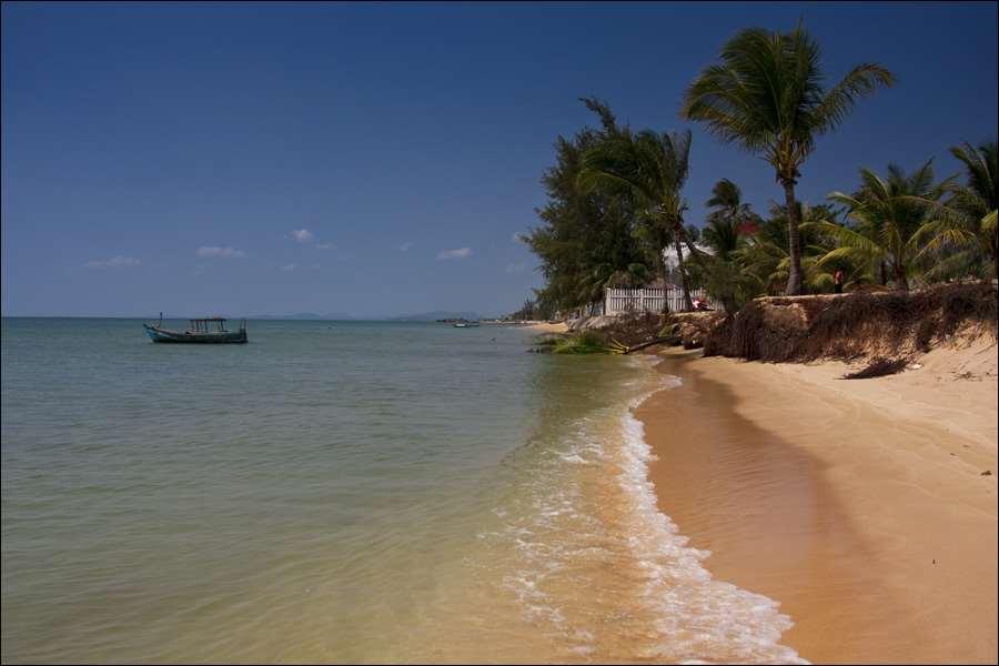 Пляж Лонг Бич.