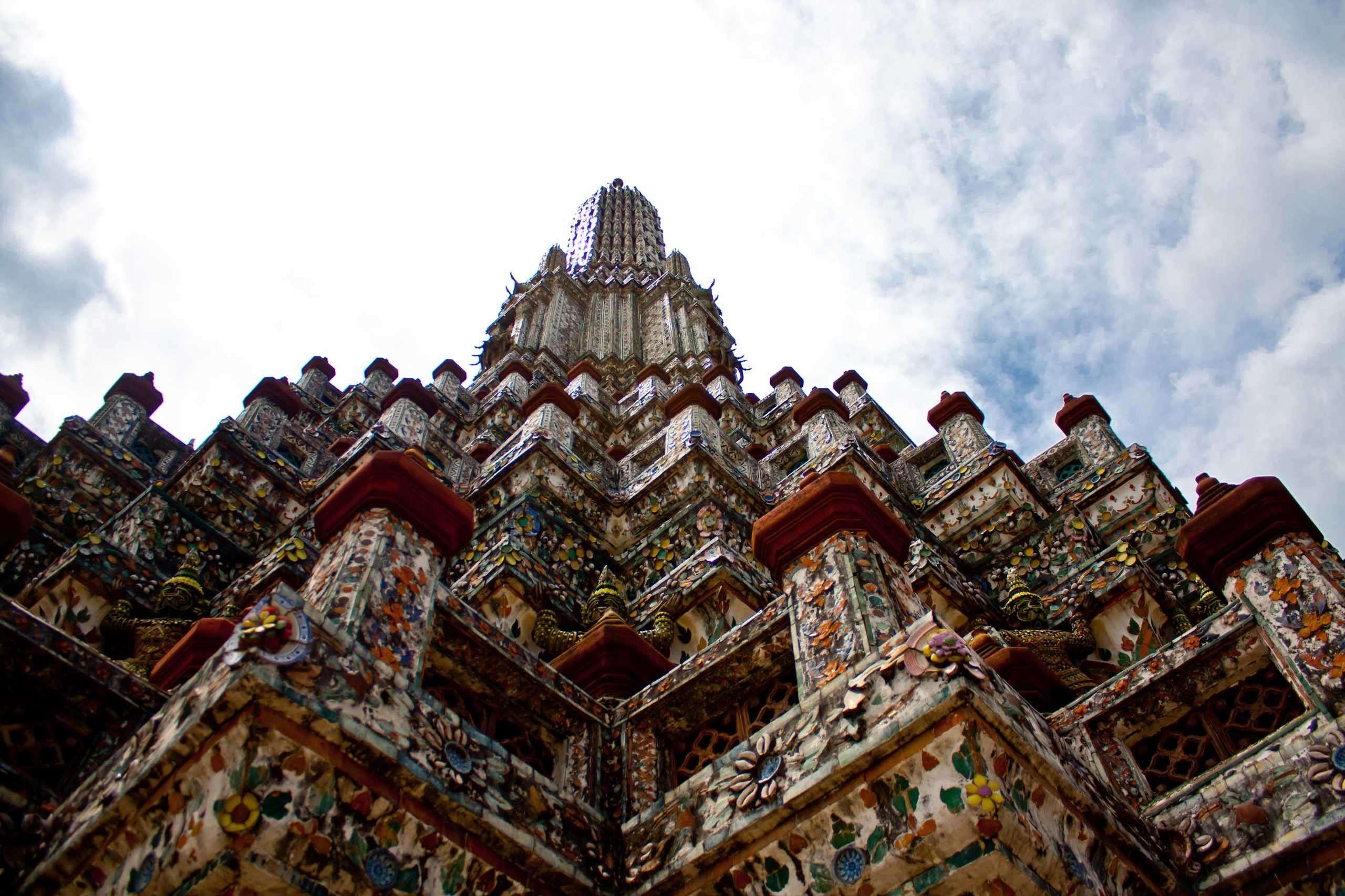 Храм Рассвета (Wat Arun) роспись