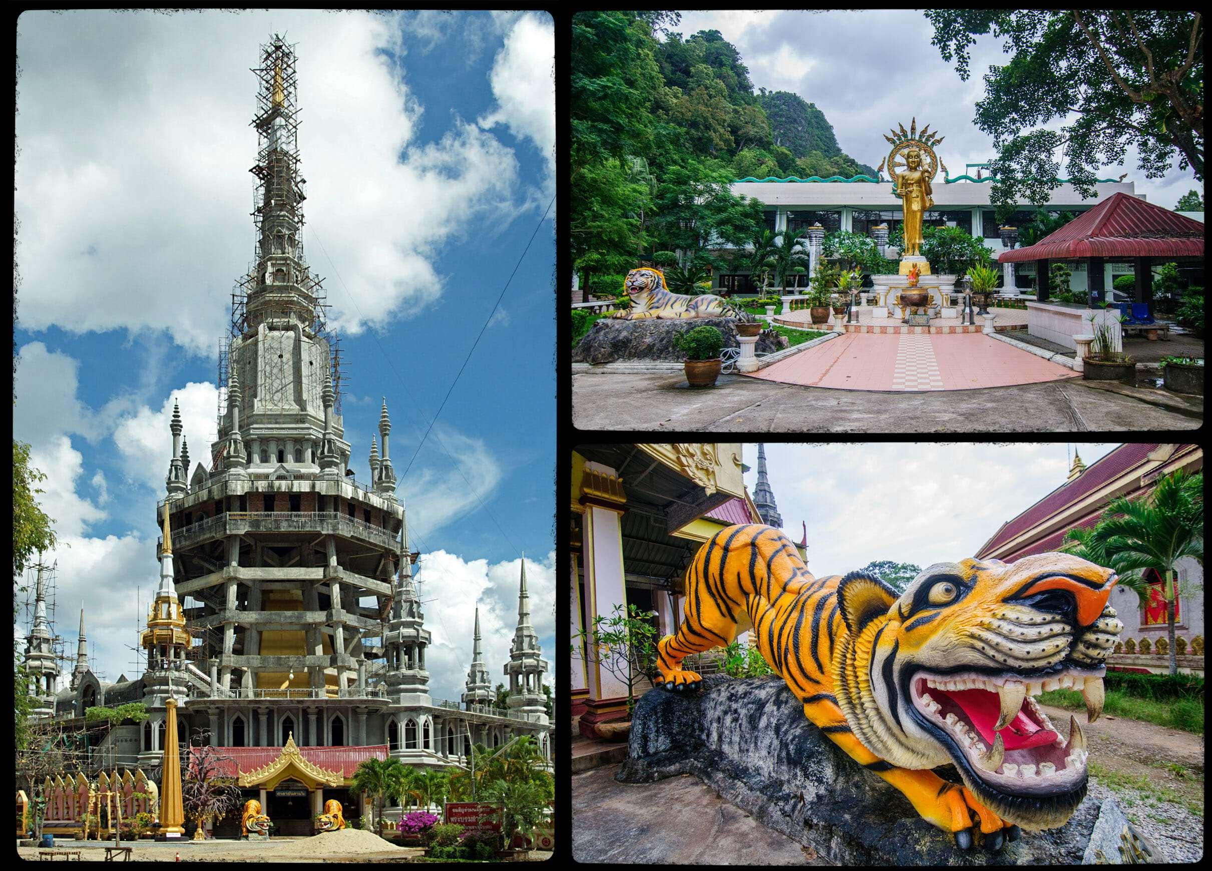 Храм Тигра в Пещере Wat Tham Suea