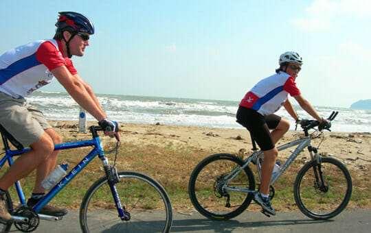 Экологические прогулки на велосипедах краби