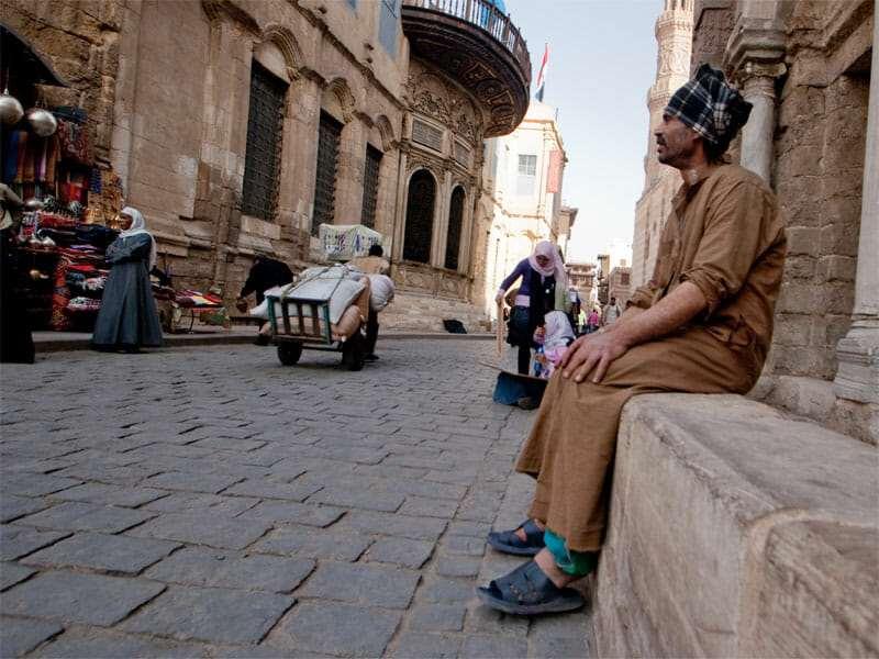 жители (население) Египта