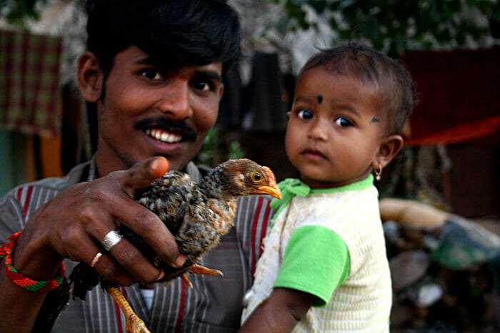 местные жители индии