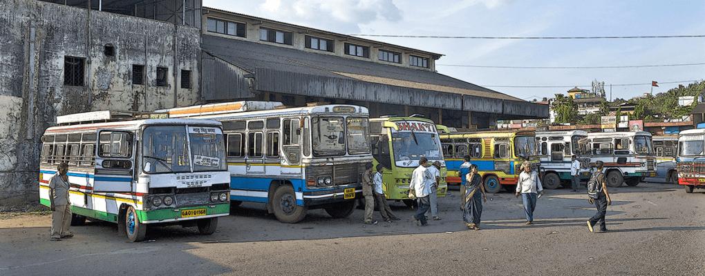 автовокзал в индии