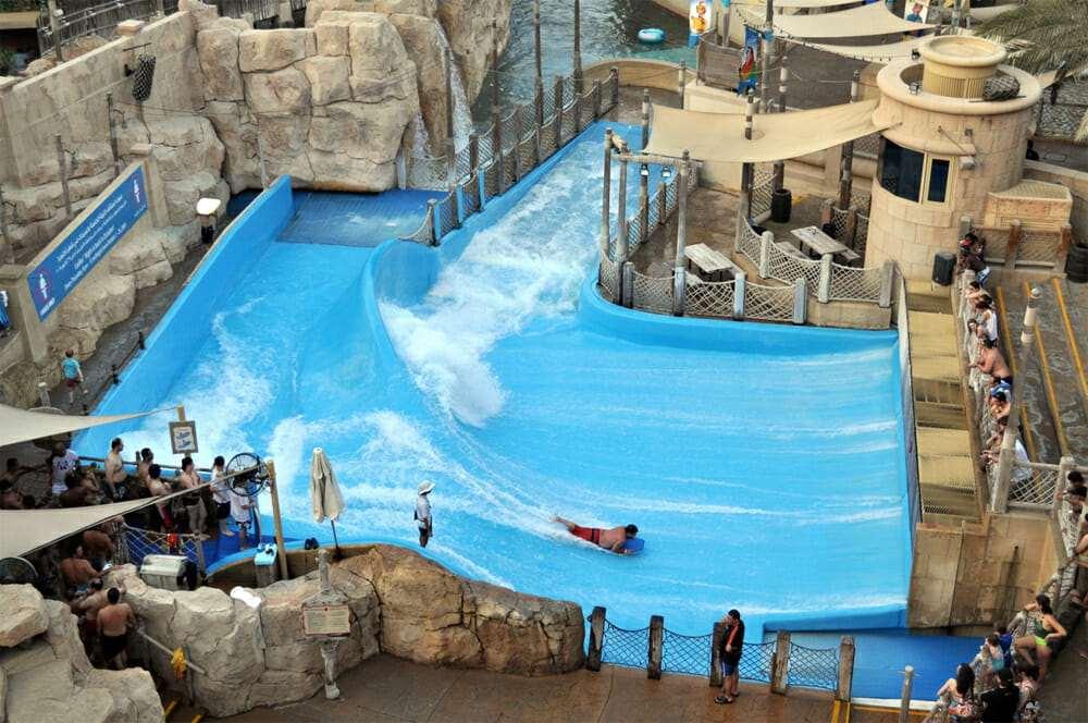 Аквапарк Вайлд Вади, Серфинг в Дубае