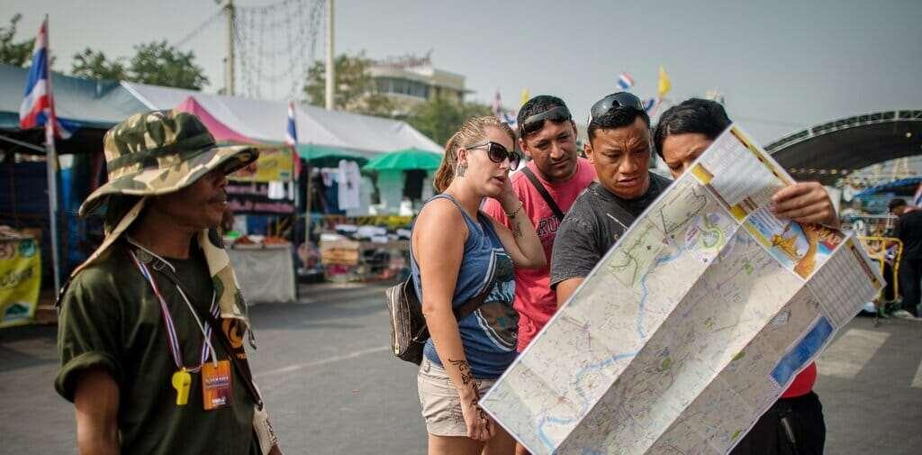 Как разводят туристов в Таиланде