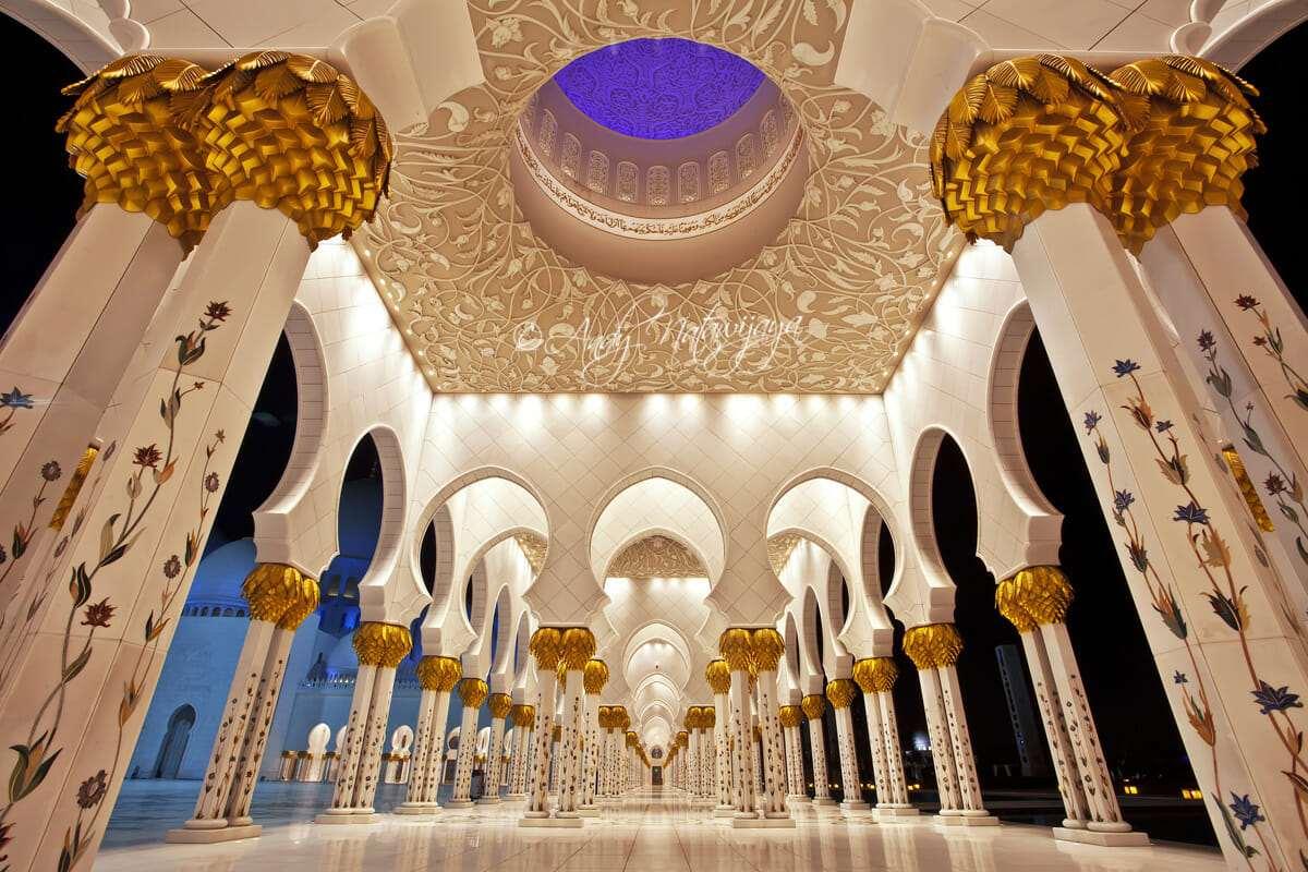 Мечеть шейха Зайда архитектура