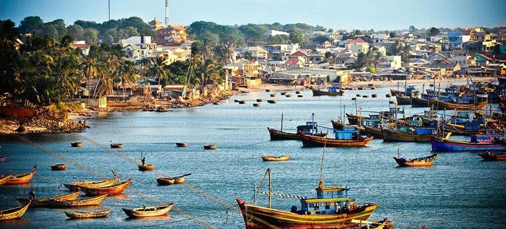 Рыбацкая гавань в Муйне