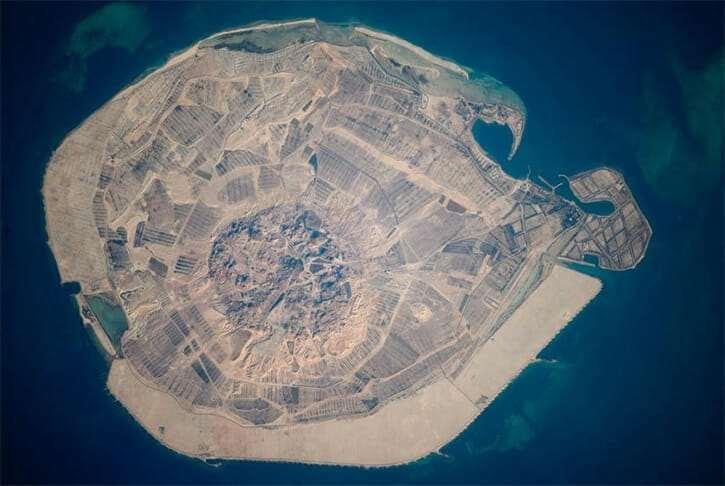 Сир-Бани-Яс остров, ОАЭ
