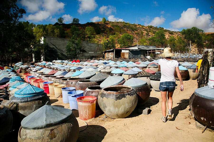 Фабрика рыбного соуса, Муйне, Вьетнам