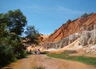 Вьетнам Фантьет Соломенный остров