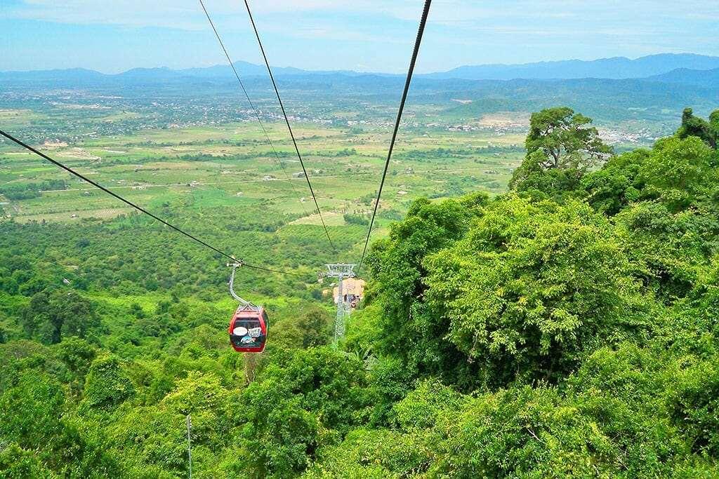 Канатная дорога на горе Таку