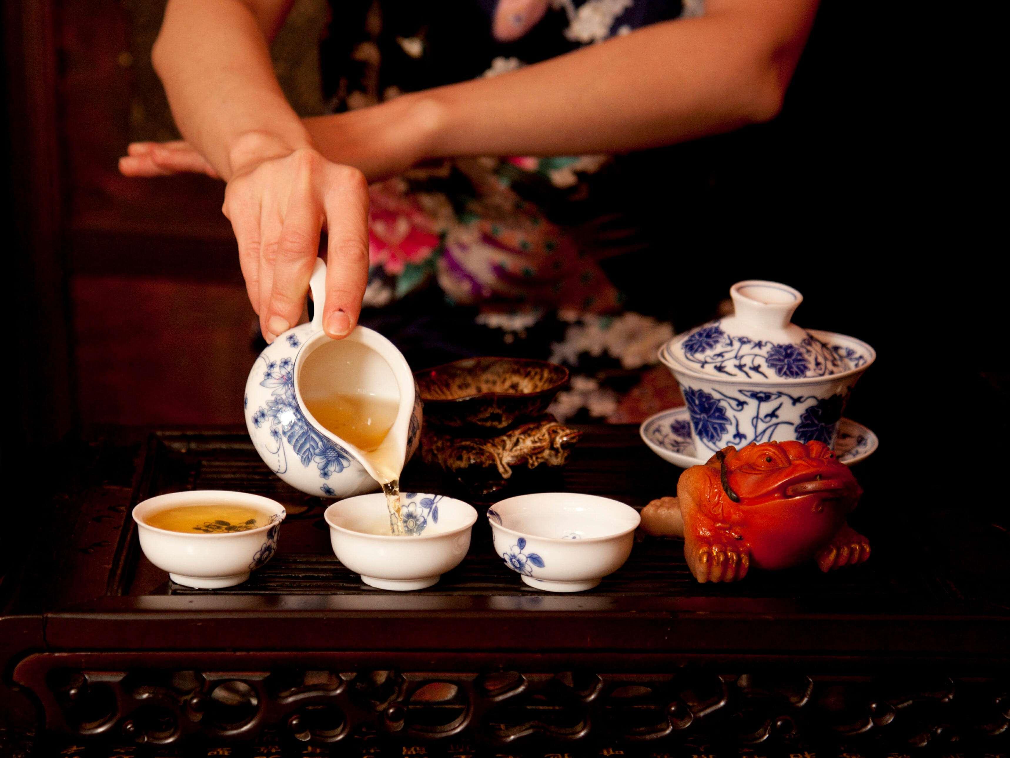 китай чайная церемония