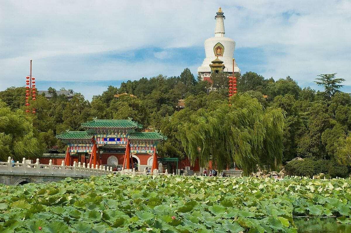 парк бэйхай пекин