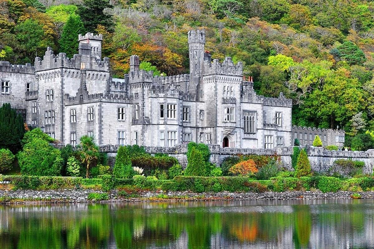 Аббатство Кайлмор, Коннемара, графство Голуэй, Коннахт, Ирландия, Европа