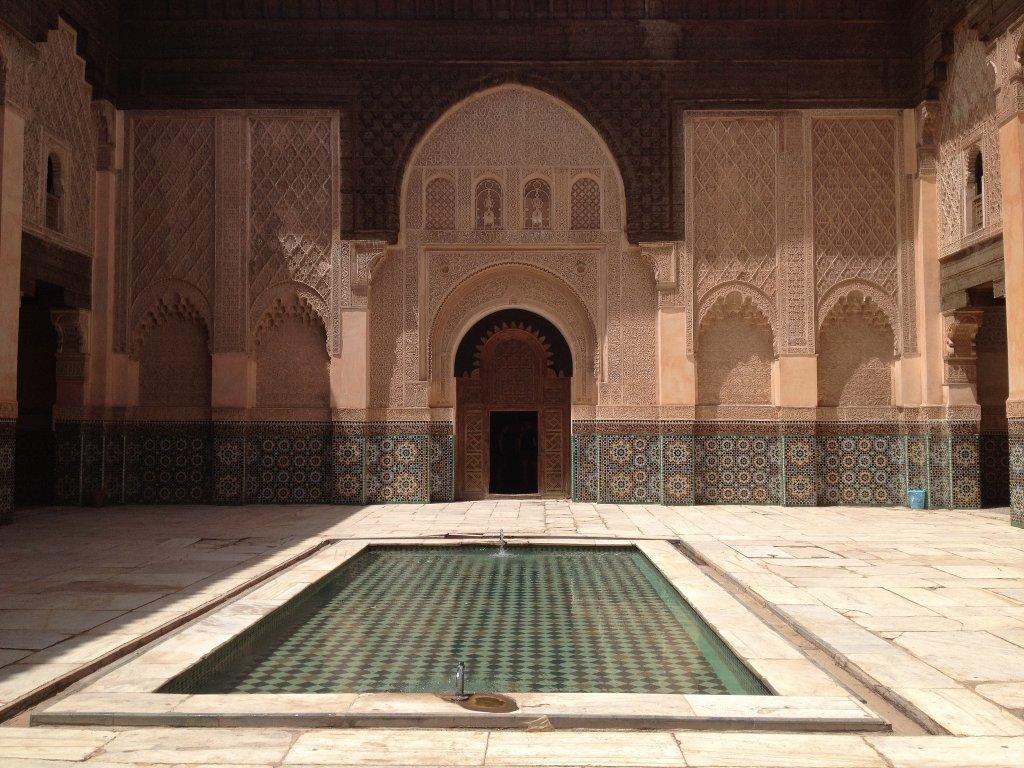 Бывшая кораническая школа в Марракеше, названная в честь эмира Альморавидов Али ибн Юсуфа. Это самое крупное медресе в Марокко.