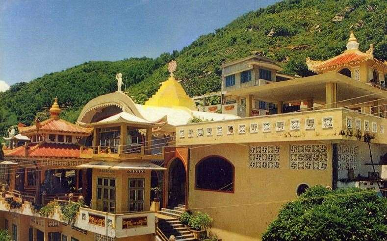 Буддийский храм Ниет Бан Тинь Са (Дом чистой нирваны).