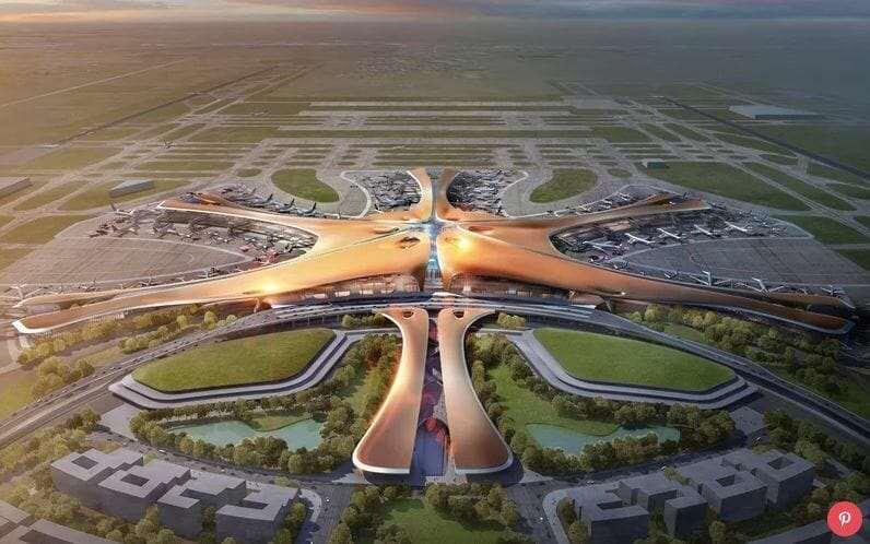Новый Аэропорт в Пекине 1