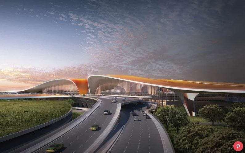 Новый Аэропорт в Пекине 2