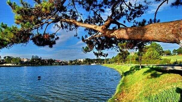 Озеро Сюан Хыонг ...