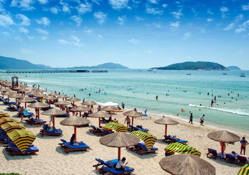 Пляжи острова Хайнань, Китай