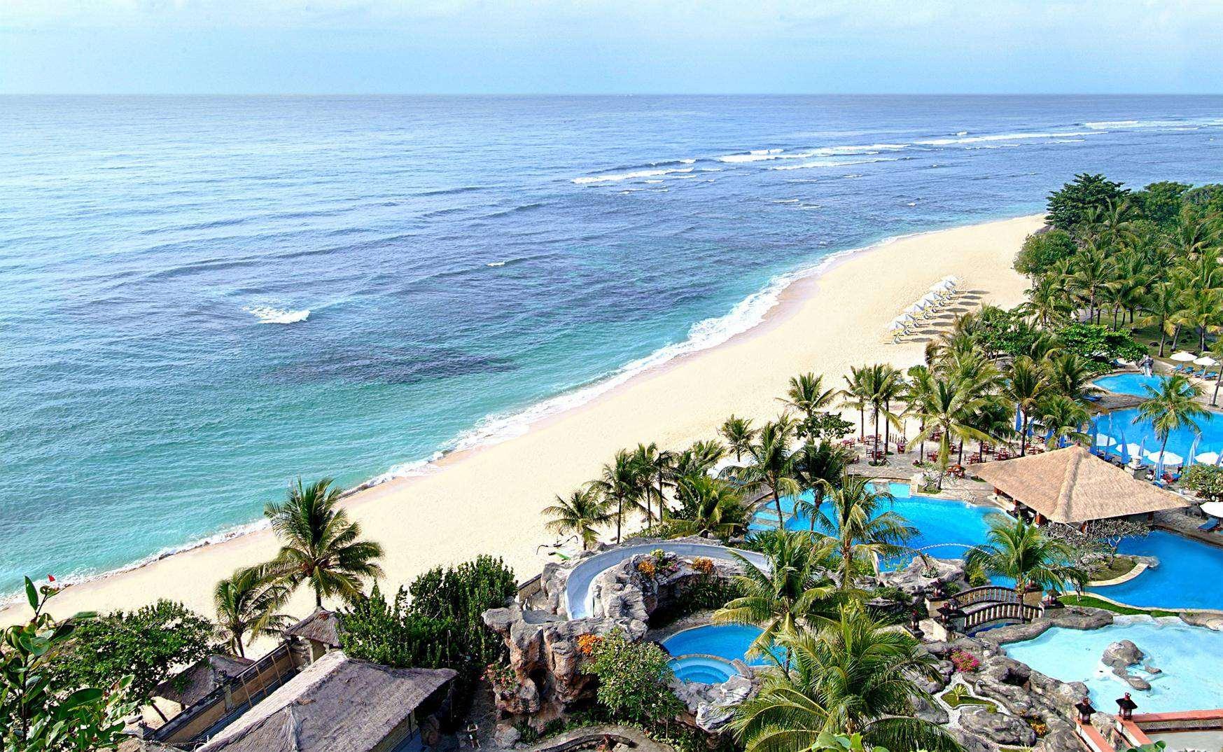 Пляж Нуса-Дуа в Индонезии