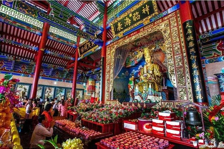 Храм Чивань Тяньхоу