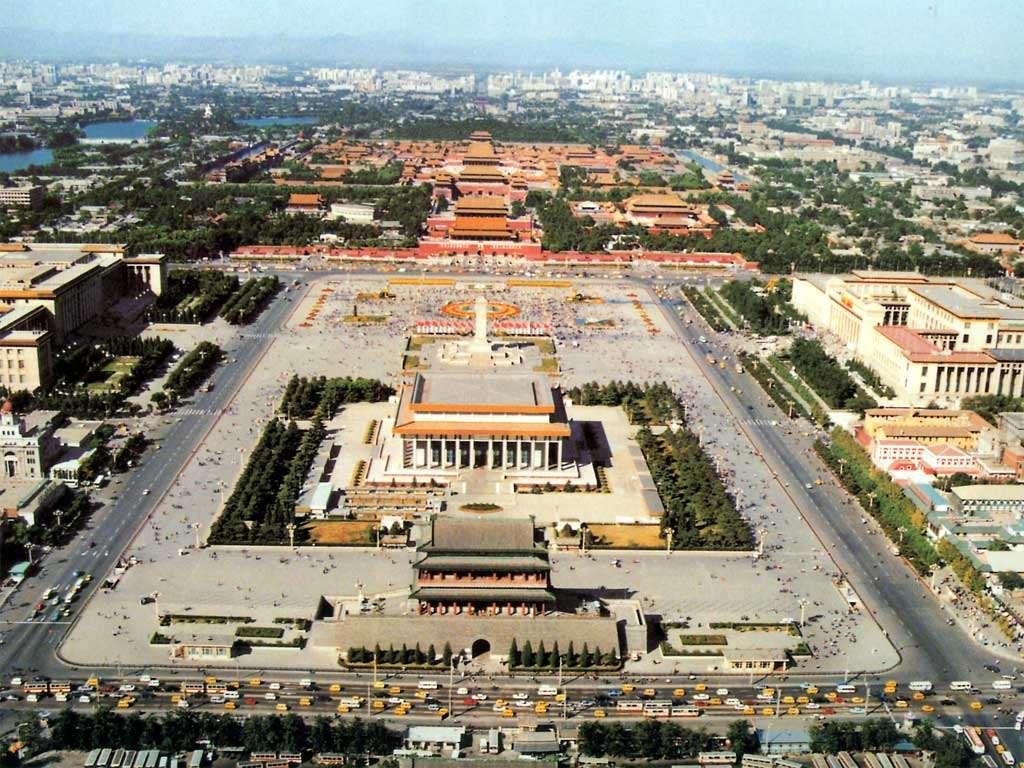 Центральная площадь Тяньаньмэнь