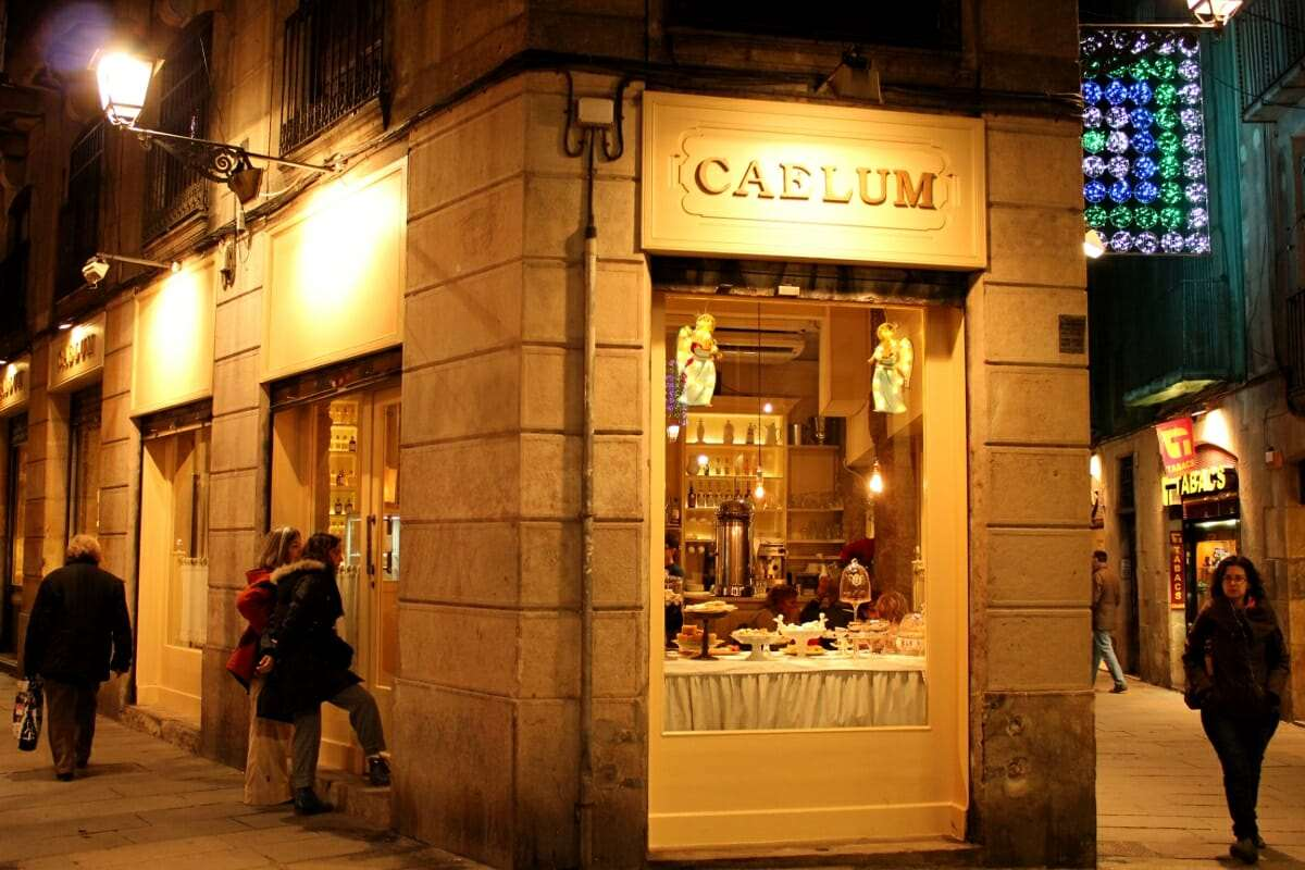 Barcelona Caelum cafe