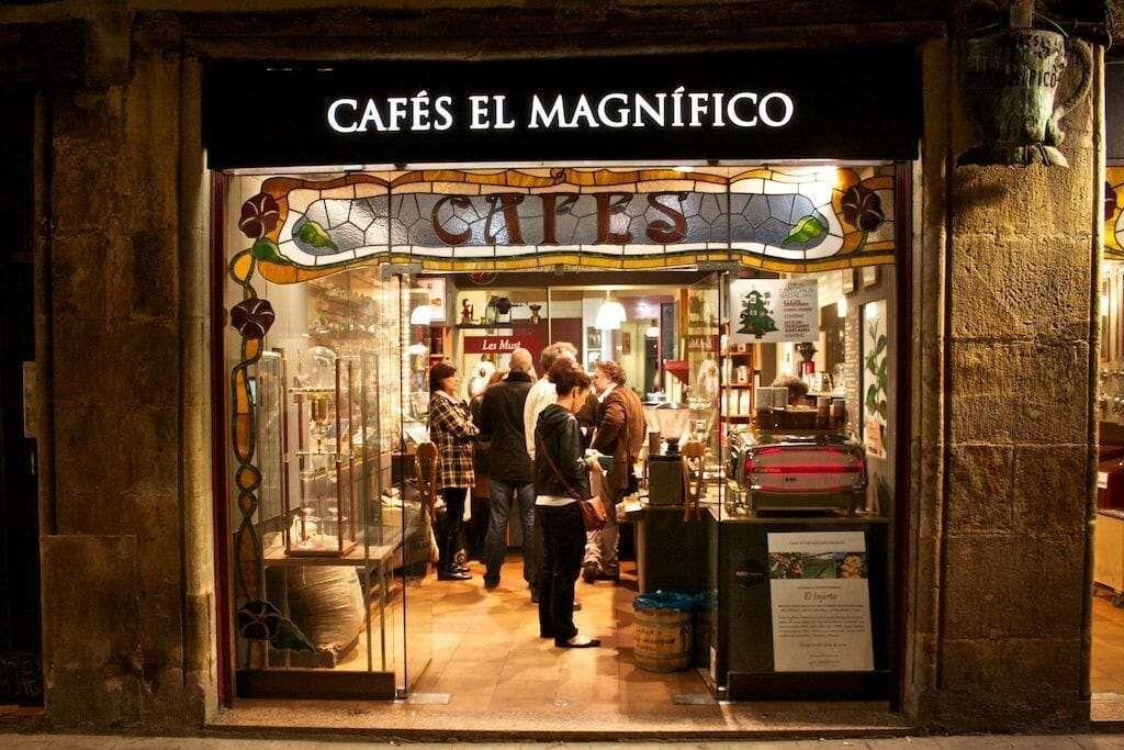 Cafés El Magnífico, Barcelona
