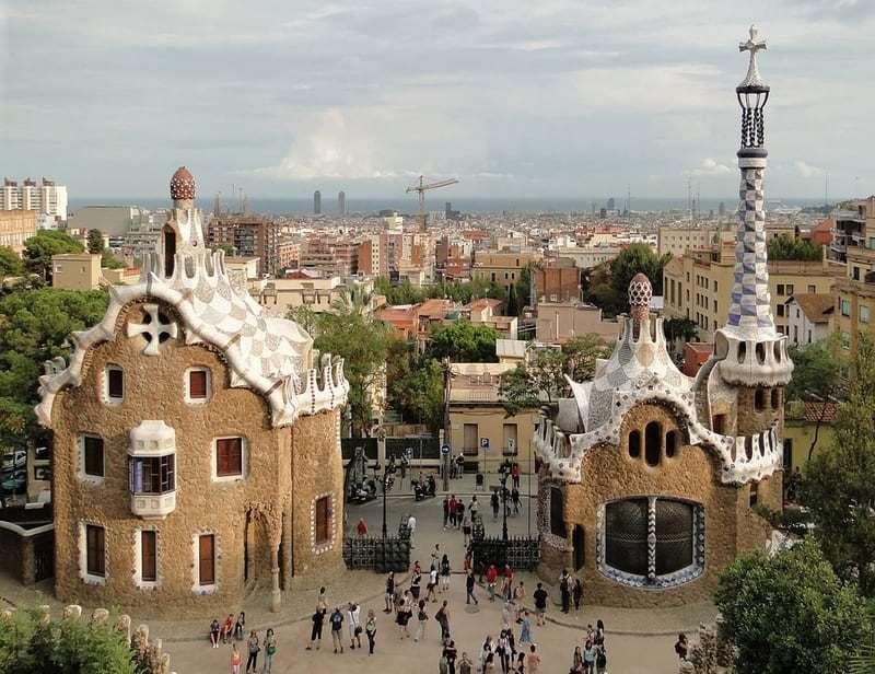 Достопримечательности Барселоны, Испания.