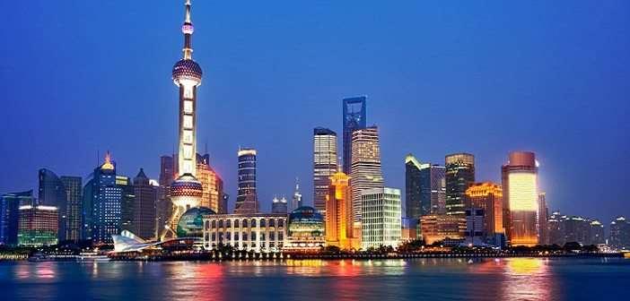 Китайский город Шанхай