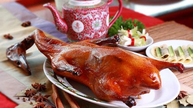 Традиционная утка по-пекински