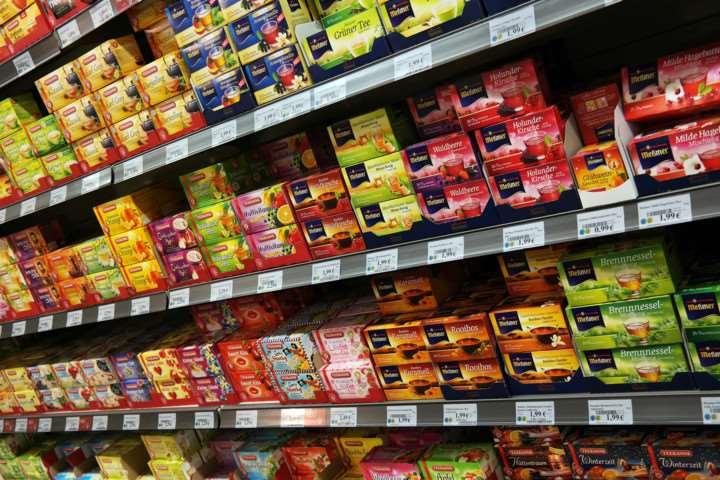 магазинах Китая продается немало продуктов