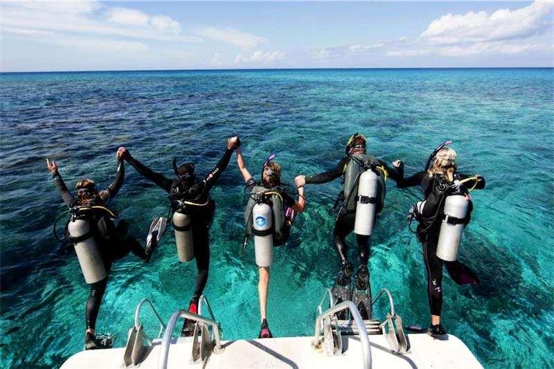 Подводное плавание (дайвинг) предлагают практически во всех курортных поселках и городках на побережье. Особенно популярны погружения возле островов: Орак (на востоке курорта), Каргы, Кечек, Кара Ада, Чатал.